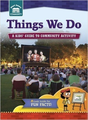 Cover: Things We Do: A kids' guide to community activity