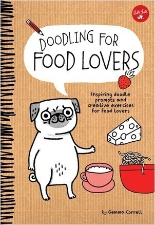Cover: Doodling for Food Lovers