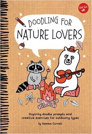 Cover: Doodling for Nature Lovers
