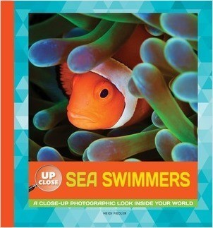 Cover: Sea Swimmers: A Close-up Photographic Look Inside Your World