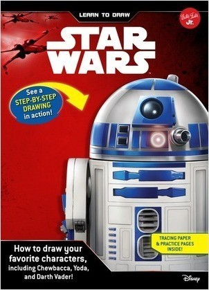 Cover: Learn to Draw Star Wars: How to draw your favorite characters, including Chewbacca, Yoda, and Darth Vader!