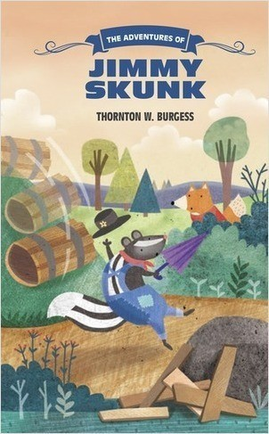 Cover: The Adventures of Jimmy Skunk