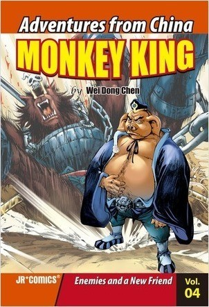 Cover: Monkey King Volume 04: Enemies and a New Friend