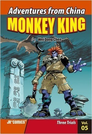 Cover: Monkey King Volume 05: Three Trials