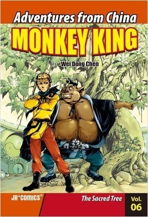 Cover: Monkey King Volume 06: The Sacred Tree