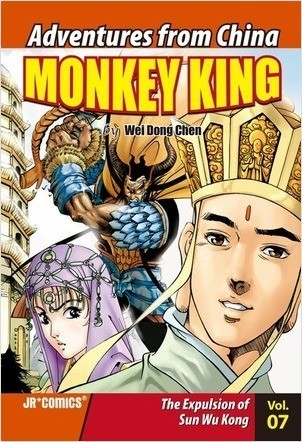 Cover: Monkey King Volume 07: The Expulsion of Sun Wu Kong