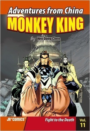 Cover: Monkey King Volume 11: Fight to the Death