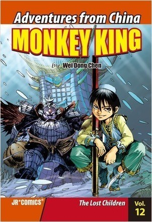 Cover: Monkey King Volume 12: The Lost Children
