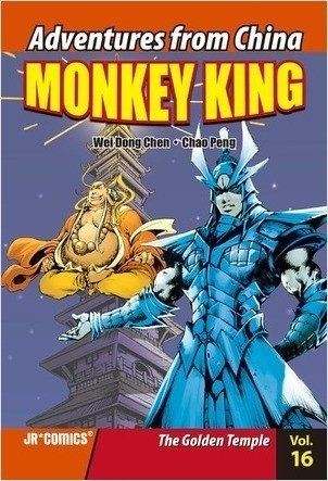 Cover: Monkey King Volume 16: The Golden Temple