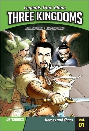 Cover: Three Kingdoms Volume 01: Heroes and Chaos