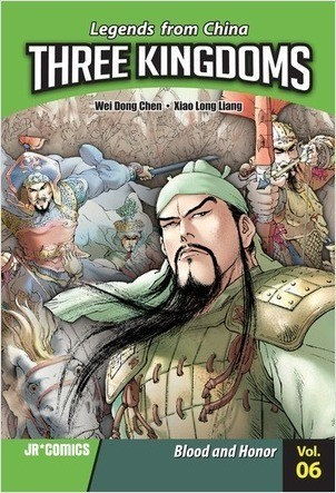 Cover: Three Kingdoms Volume 06: Blood and Honor
