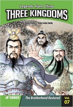 Cover: Three Kingdoms Volume 07: The Brotherhood Restored