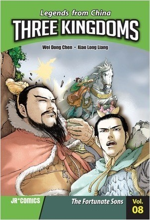 Cover: Three Kingdoms Volume 08: The Fortunate Sons