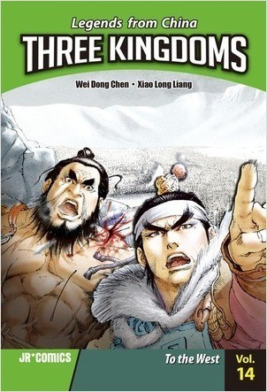 Cover: Three Kingdoms Volume 14: To the West
