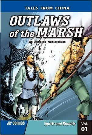 Cover: Outlaws of the Marsh Volume 1: Spirits and Bandits