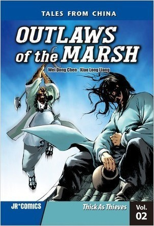 Cover: Outlaws of the Marsh Volume 2: Thick As Thieves
