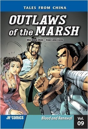 Cover: Outlaws of the Marsh Volume 9: Blood and Renewal