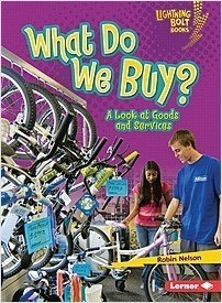 Cover: What Do We Buy?: A Look at Goods and Services