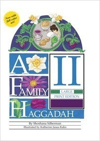 Cover: A Family Haggadah II - Large Print Edition, 2nd Edition