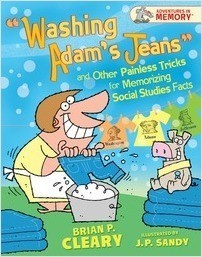 "Cover: ""Washing Adam's Jeans"" and Other Painless Tricks for Memorizing Social Studies Facts"