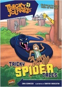Cover: Tricky Spider Tales: Book 5
