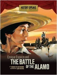 Cover: Enrique Esparza and the Battle of the Alamo
