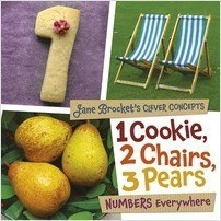 Cover: 1 Cookie, 2 Chairs, 3 Pears: Numbers Everywhere