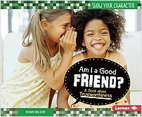 Cover: Am I a Good Friend?: A Book about Trustworthiness
