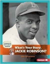 Cover: What's Your Story, Jackie Robinson?