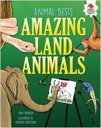 Cover: Amazing Land Animals