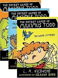 Cover: The Secret Games of Maximus Todd — Library Bound Set