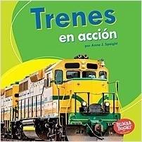 Cover: Trenes en acción (Trains on the Go)