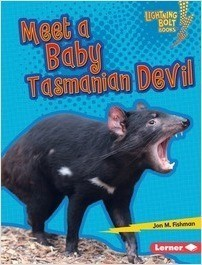 Cover: Meet a Baby Tasmanian Devil