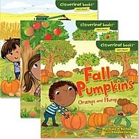 Cover: Cloverleaf Books ™ — Fall's Here! — Audisee®—On Level Set