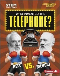 Cover: Who Invented the Telephone?: Bell vs. Meucci