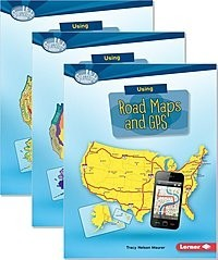 Cover: Searchlight Books ™ — What Do You Know about Maps? Audisee® eBooks with Audio Bundle (Multi-User) — Audisee®—On Level Set