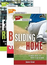Cover: Lorimer Sports Stories Fall 2018 New Releases — Library Bound Set
