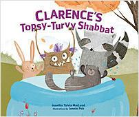 Cover: Clarence's Topsy-Turvy Shabbat