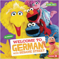 Cover: Welcome to German with Sesame Street ®