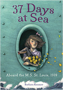 Cover: 37 Days at Sea: Aboard the M.S. St. Louis, 1939
