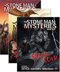 Cover: The Stone Man Mysteries — eBook Set
