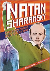 Cover: Natan Sharansky: Freedom Fighter for Soviet Jews