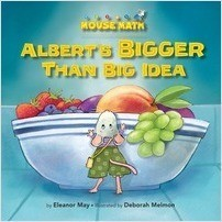 Cover: Albert's BIGGER Than Big Idea: Comparing Sizes: Big/Small