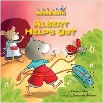 Cover: Albert Helps Out: Counting Money