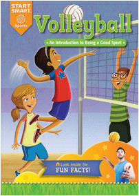 Cover: Volleyball: An Introduction to Being a Good Sport