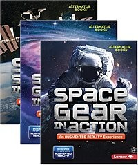 Cover: Space in Action: Augmented Reality (Alternator Books ® ) — eBook Set