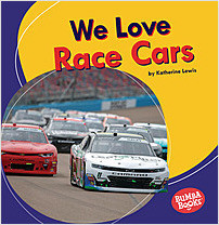 Cover: We Love Race Cars