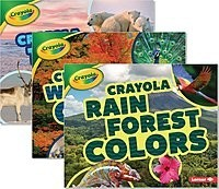 Cover: Crayola ® Colorful Biomes — Library Bound Set