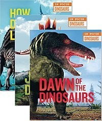 Cover: In Focus: Dinosaurs — Library Bound Set