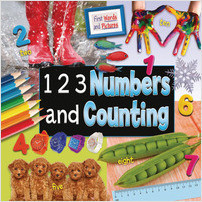Cover: 1 2 3 Numbers and Counting